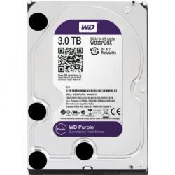 HDD 3000 GB (3 TB) SATA-III Purple (WD30PURX)